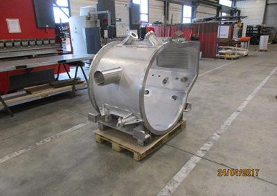 L'accélérateur de particule en aluminium