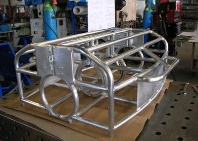 La structure en aluminium nucléaire